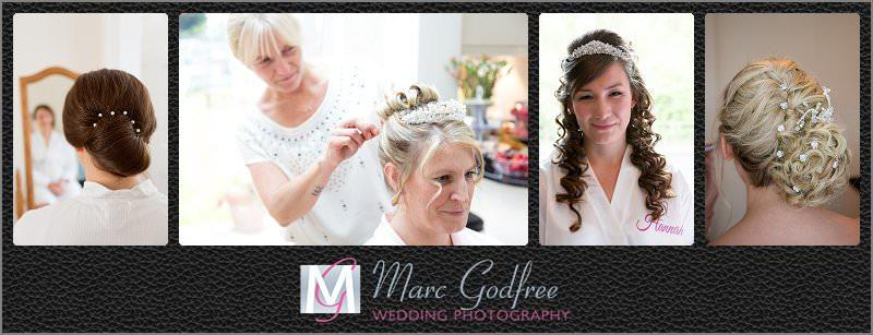 Wedding day - hair accessories