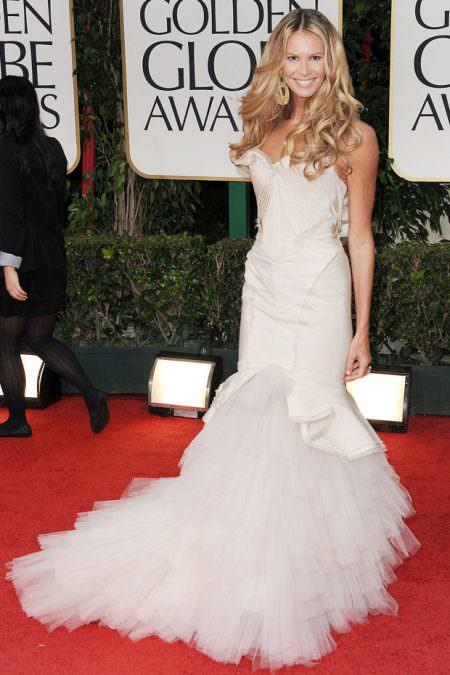 Elle MacPherson Red carpet wedding dress inspiration