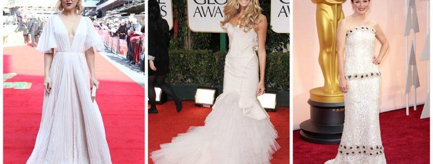 Red carpet wedding dress inspiration