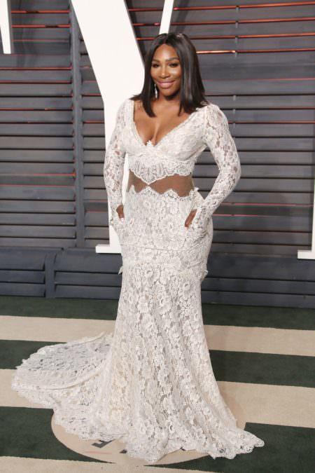 Serena Williams Red carpet wedding dress inspiration
