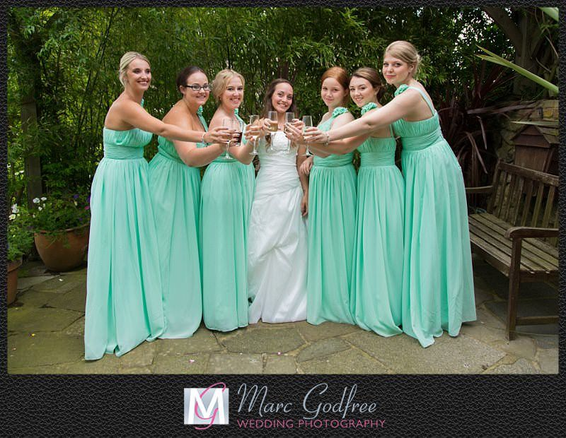 Unmissable wedding day photos- Bridal party