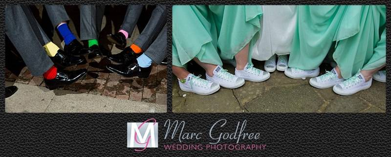 Unmissable wedding day photos- Shoes