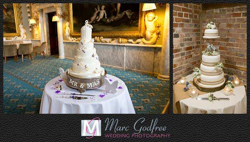 Unmissable wedding day photos- The cake