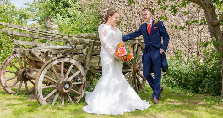 Siobhan & Dan Cooling Castle Barn Wedding Interview