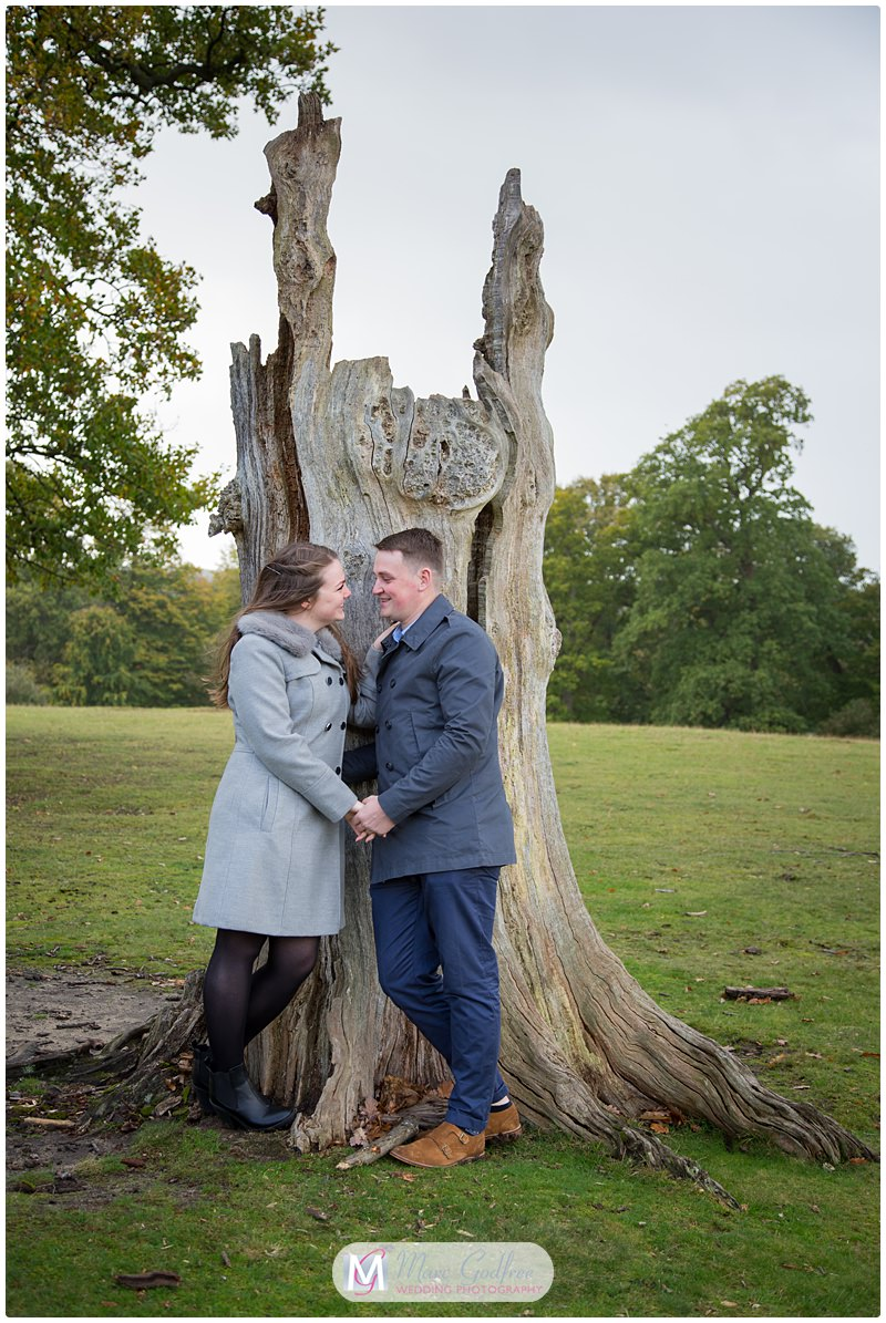 Nathan & Francesca - Pre-wedding Session Knole Park-3
