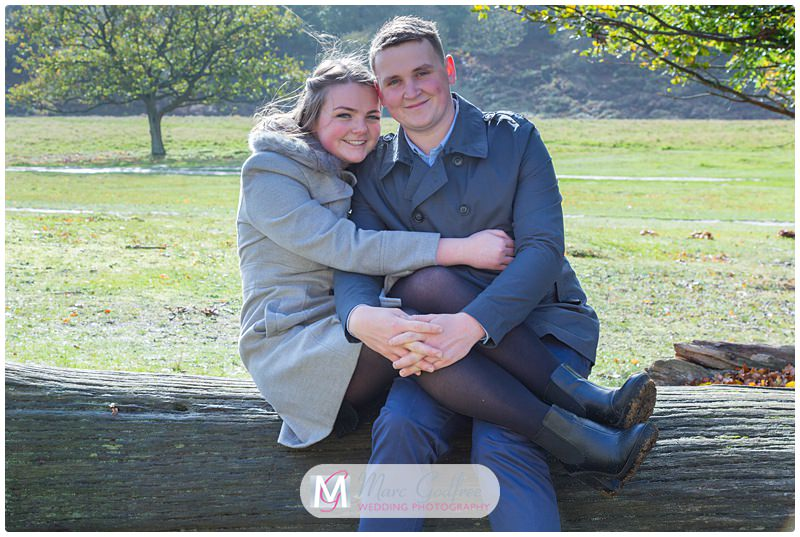 Nathan & Francesca - Pre-wedding Session Knole Park-7