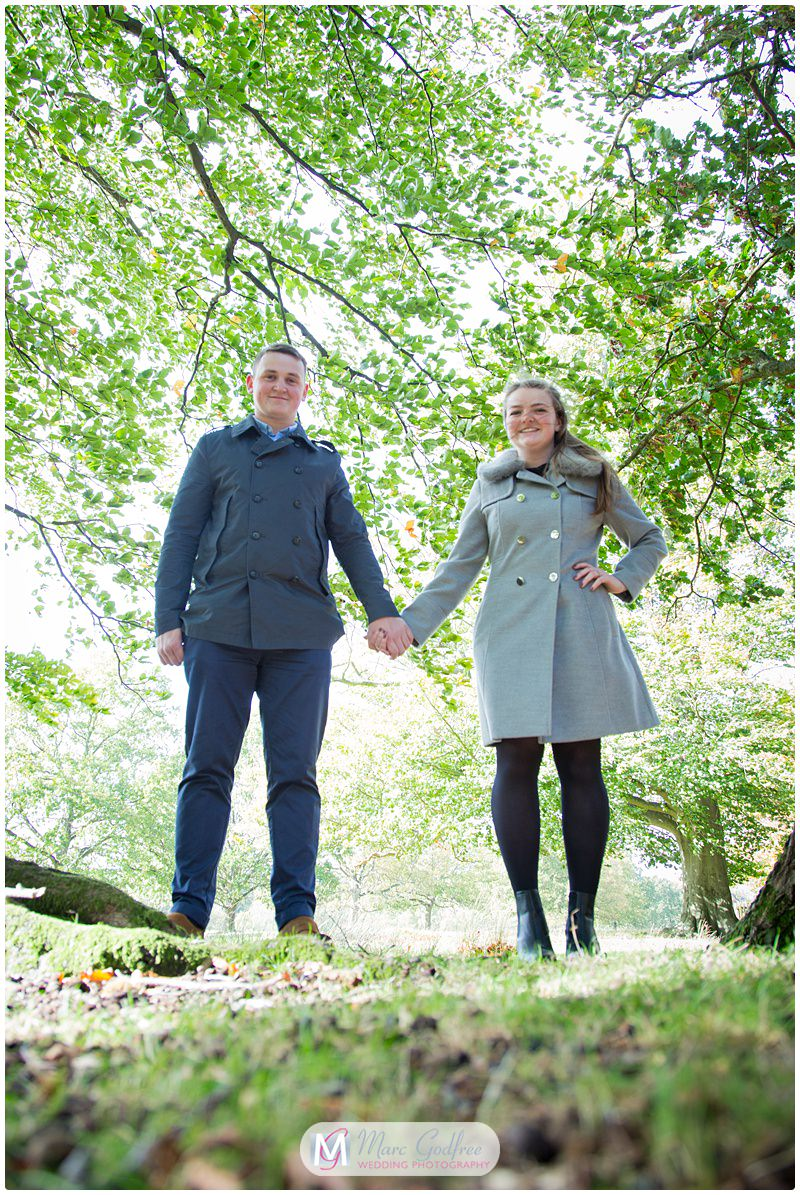 Nathan & Francesca - Pre-wedding Session Knole Park-9