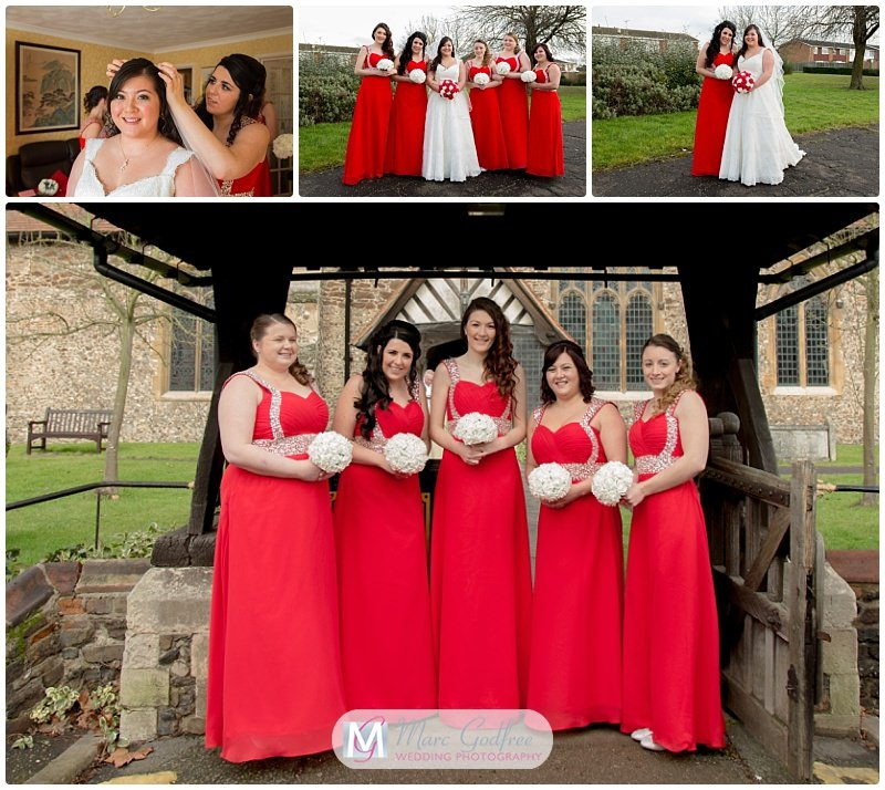 Katie & Michaels Newland Hall Wedding Interview-Bridesmaids