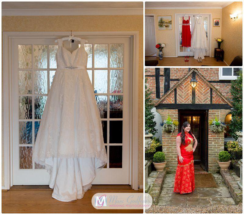 Katie & Michaels Newland Hall Wedding Interview-Dress