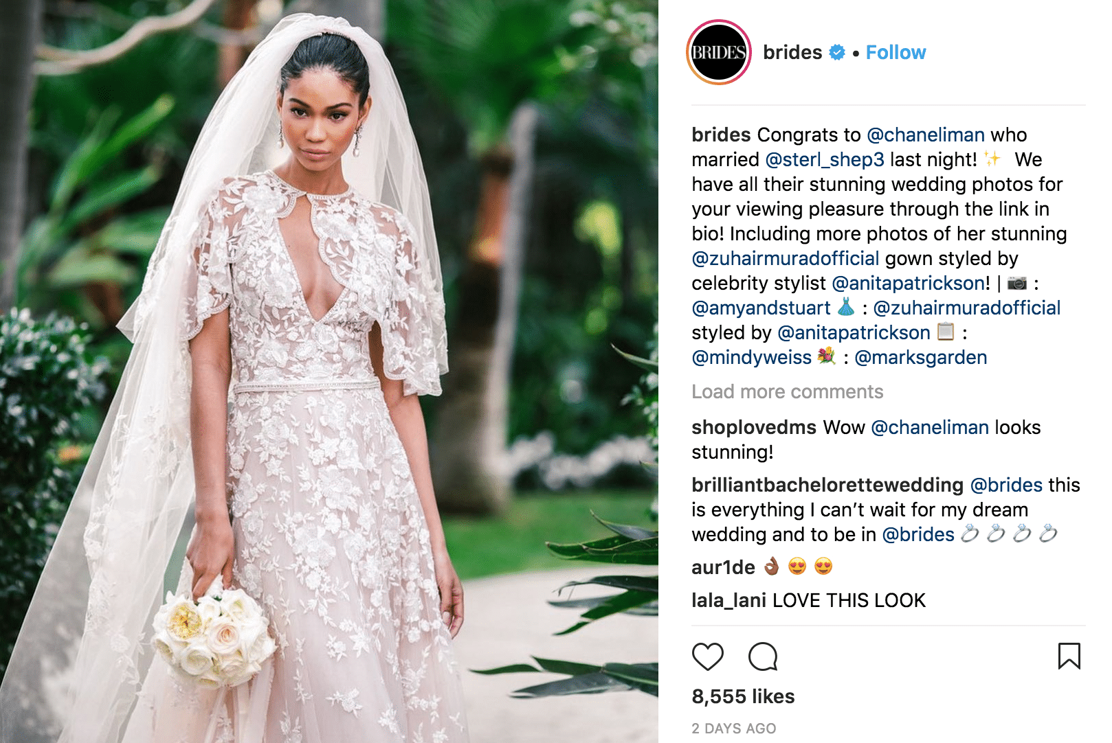 Instagram accounts to follow-Bride