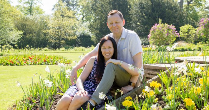Teresa & Paul's Engagement Session at Hylands Essex