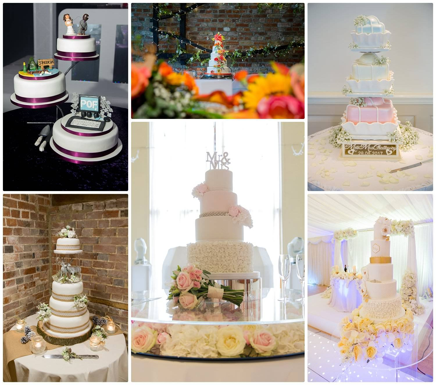 Top tips for choosing your wedding cake-Display